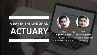 A day in the life of an actuary