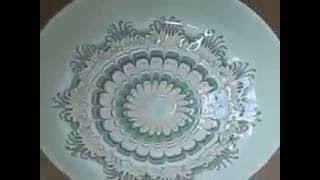 The ceramic drawing technique