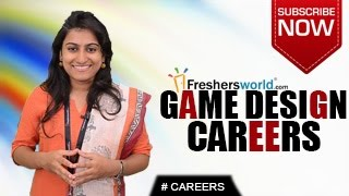 Career in game designing