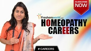 Homeopathy Career