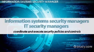 Be an Information Systems Security Manager: Career Roadmap
