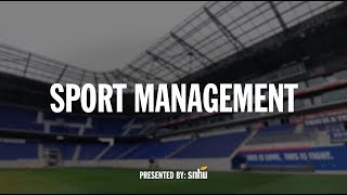 What is sports management?