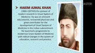 A Brief Introduction to Unani system of medicine