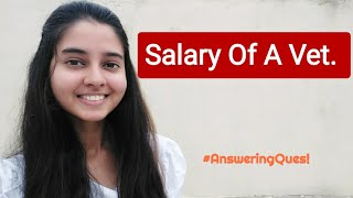 Salary of a veterinary professionals  in India (Hindi)
